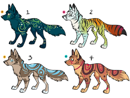 Assorted Canine Designs Batch 21 (CLOSED) by ChamberedNoctilus