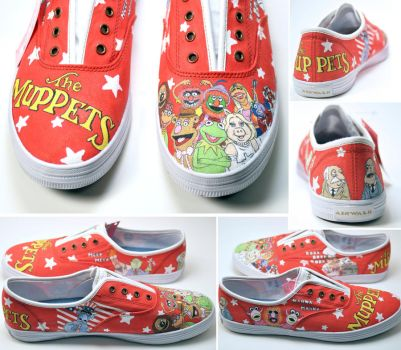 Muppet Shoes by michellebrown