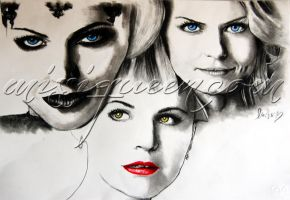 The Evil Queen.The Hope.Snow White by ViolentSexAddict