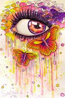 Butterfly Tears by Sarah-BK
