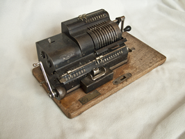 mechanical calculator 2 by oosstock