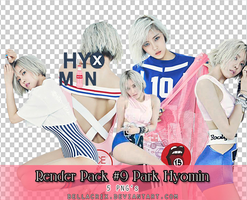 Render Pack #9 Park Hyomin Nice Body by Bellacrix