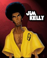 Jim Kelly by LawrenceChristmas