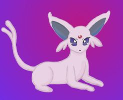 Espeon by MelodyCrystel