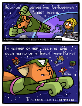Spacefox Page 8 by Starflier