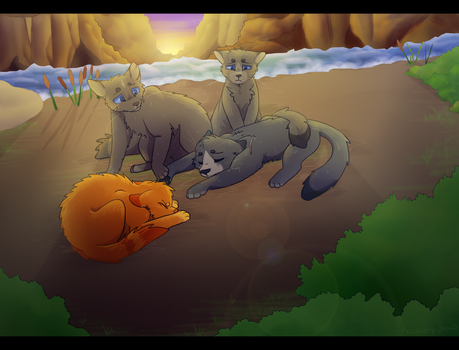 Bluestar's Death +Speedpaint by recovery-paws