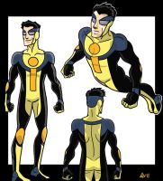 Invincible Redesign by toekneearrows