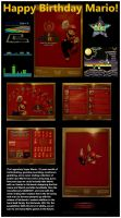 Mario:25 years of gaming by NatSilva