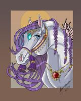Farfalla Portrait by sighthoundlady
