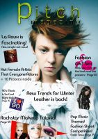 Pitch Magazine with La Roux by CuriouserX10