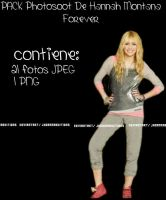 Pack Photoshoot Hannah Montana Forever by JhoannaEditions