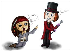 When Wonka meet Sparrow by saddiamonds