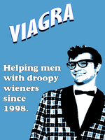 Grinning 1950's Viagra Idiot by MrAngryDog