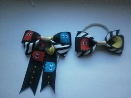 Pacman bows for sale by ScorpionsKissx