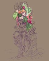 Pirate Ivy Coloring  Wip by NoFlutter