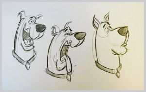 Scooby-Doo! by brianpitt