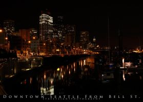 Seattle From Bell St. Water Fr by UrbanRural-Photo