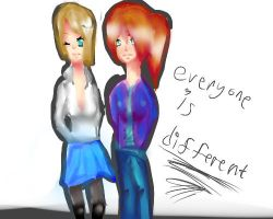 Everyone is different by Shiro-chan12345