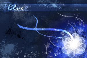 Blue-Wallpaper by Sefti
