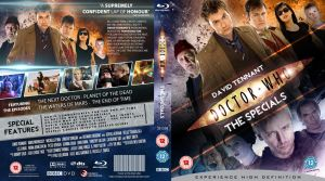 DOCTOR WHO SPECIALS BLU-RAY COV by MrPacinoHead