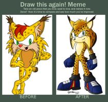 Before-After Meme: Lynx by N0B0D1