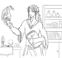 Elven Mage by Captain-Savvy