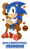 Sonic, already 20 years by Lageon