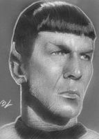 Spock black and white PSC by Ethrendil