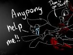 Anypony Help Me! (gore) by FireFox12345678910