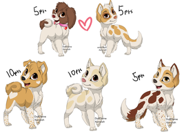 OPEN CHEAP LITTER AND PARENTS ADOPTS by Kyarii-chan
