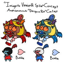 Incognito Vinnie and Spike Concept by nicholangelo