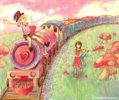The Candy Express by Cisiko