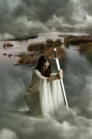 Lady of the Lake by amiens