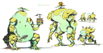 Greenbean Bots by Eyecager