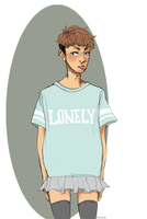 hqk: lonely boy by pxlhime