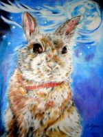 Moon Rabbit by WhimsicalSJane