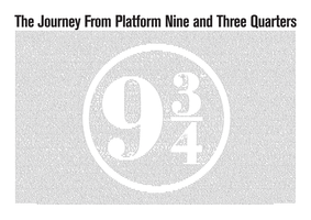 The Journey from Platform Nine and Three Quarters by GeijvonTaen