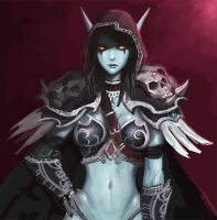 Sylvanas windrunner by yy6242