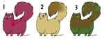 Chubby Cats adoptables - OPEN by ChillyAdoptables