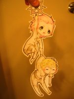 paper child- axel and roxas by Zale13