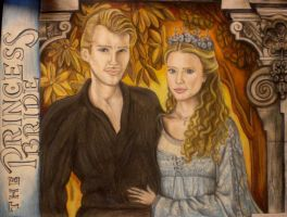 Buttercup and Westley by MissCosettePontmercy