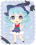 Perfect Cirno chibi by KokoTensho