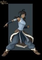 korra  -  commission by nightwing1975