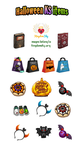 Halloween items for kingdomsky.org - October 2015 by r0se-designs