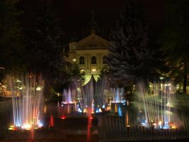 The Singing Fountaine , Kosice , Slovakia by sparcosk