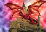 red dragon by dracontologe