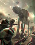 AT-AT Battle 3-D conversion by MVRamsey