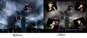 Before and After-11 by YugixYamiLove4ever