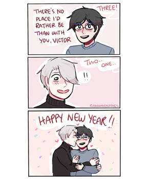 YOI: HAPPY NEW YEAR by Randomsplashes