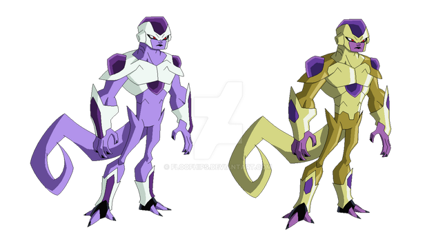 Lord Frieza by FloofHips